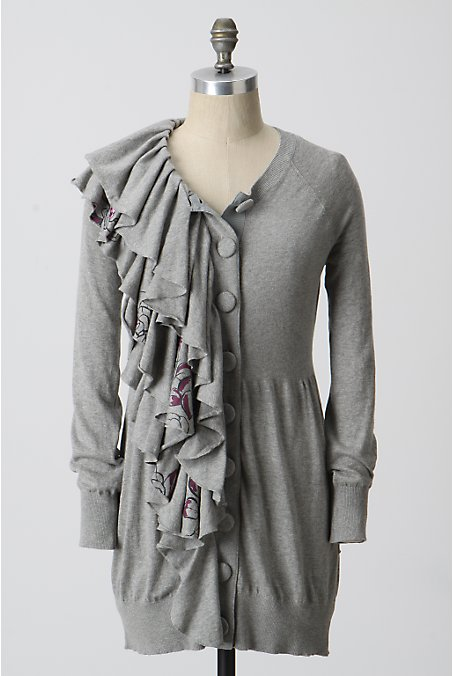 Grey sweater anthro