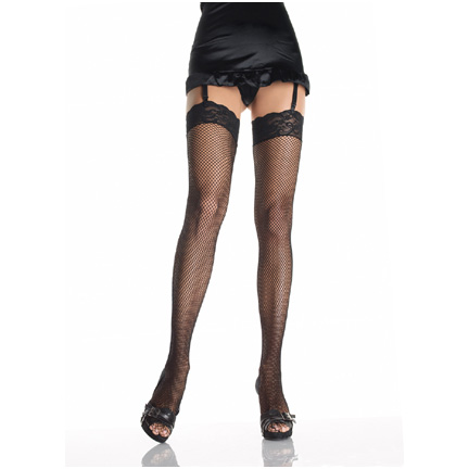 Fishnet-thigh-high-stocking-with-3inch-lacetop